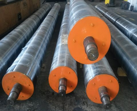 Steel rollers and rolls