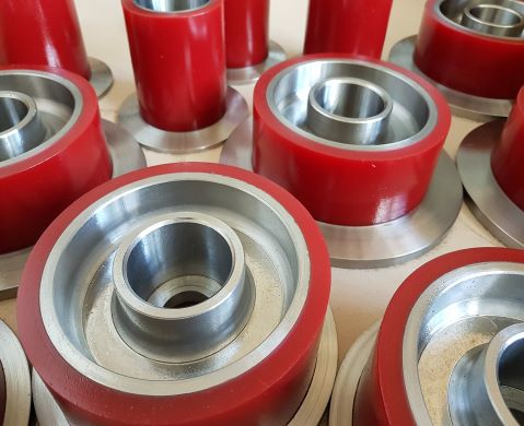 Polyurethane spare parts